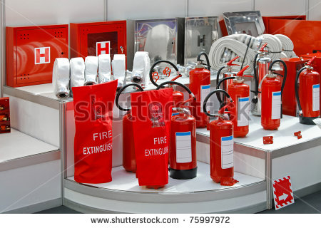 servicing of fire protection eqpmt